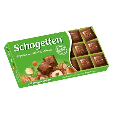 Schogetten Milk Chocolate & Hazelnuts 100g