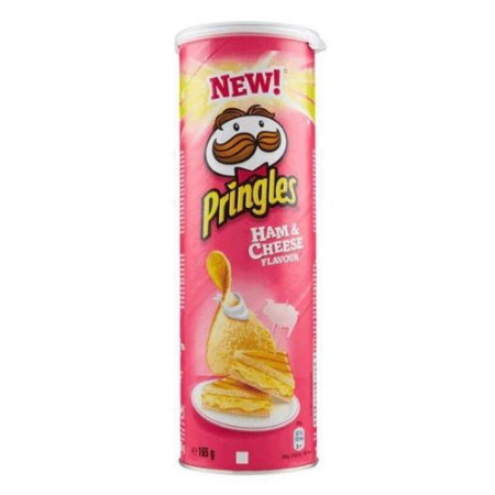 Pringles Ham Cheese 165g