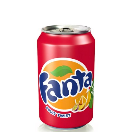 Fanta Fruit Twist Com suco de fruta 330ml