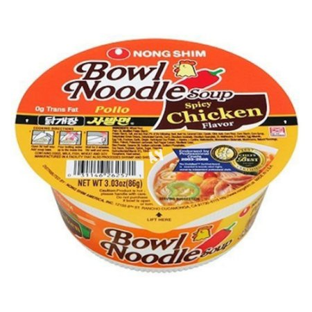 Nongshim Bowl Noodle Soup Spicy Chicken 86g