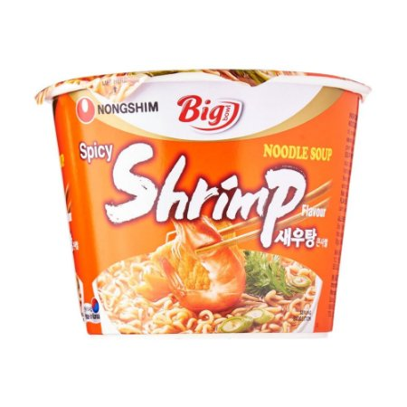 Nongshim Big Bowl Spicy Shrimp 115g