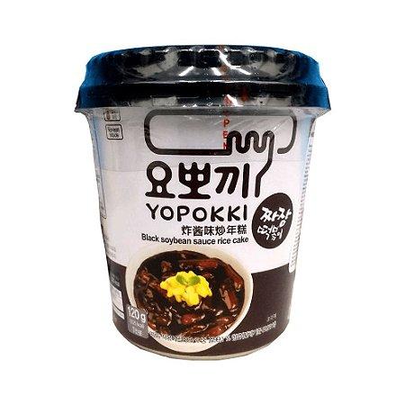 Yopokki Black Soybean Sauce Topokki 140g