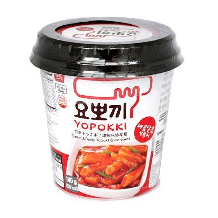 Yopokki Sweet Spicy Topokki 140g