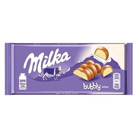 Milka Bubbly White 100g