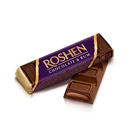 Roshen Dark Chocolate Rum 43g