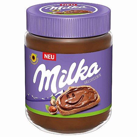 Creme De Avelã Com Chocolate Milka Hazelnut 350g