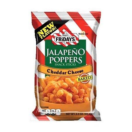 TGI Fridays Jalapeño Poppers Cheddar Cheese Snack 99.2g