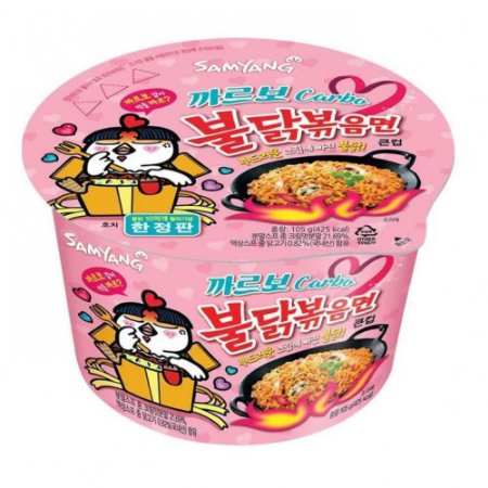Samyang Hot Chicken Flavor Carbonara 179g