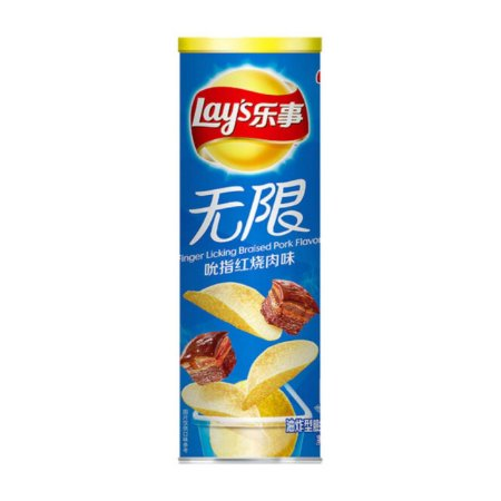 Lay's Sabor Porco Assado (Importado da China)