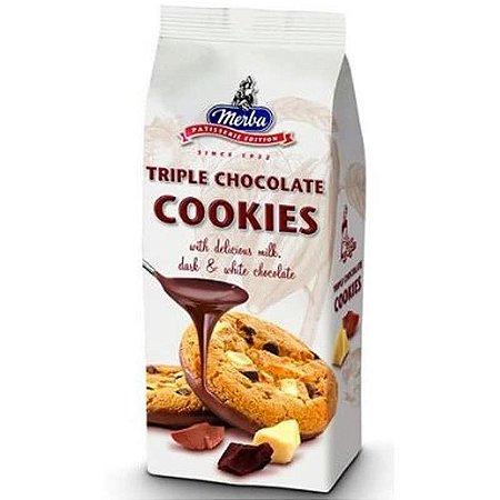 Merba Cookies Triple Chocolate 200g