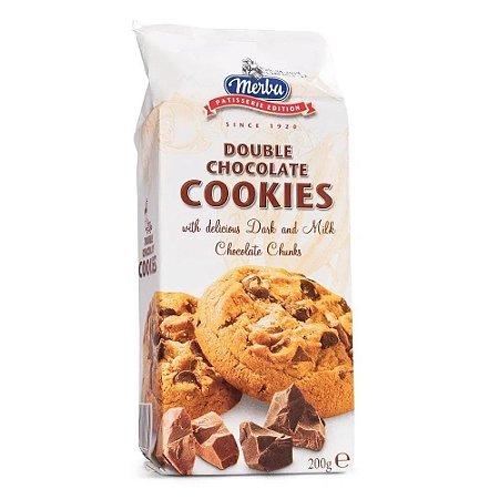 Merba Cookies Double Chocolate 200g