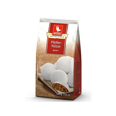 Weiss Biscoitos de Especiarias e Glacê Pfeffernüsse 200g