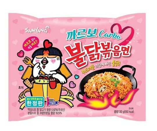 Samyang Hot Chicken Flavor Carbonara (pacote) 130g