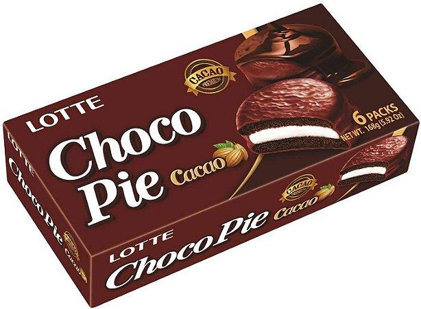 Chocopie Alfajor Cacao Premium com 6 unidades