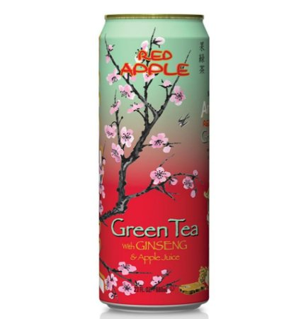Arizona Green Tea Red Apple 680ml