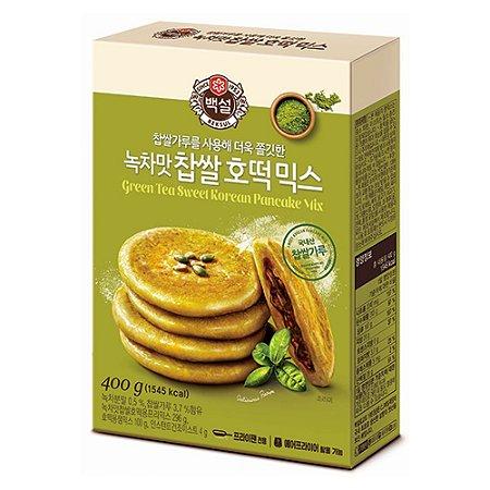 Green Tea Sweet Korean Pancake Mix 400g