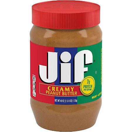 pasta de amendoim americana cremosa Jif 454g