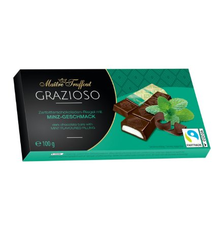 Maitre Truffout Grazioso sabor menta 100g