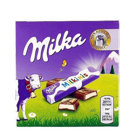 Milka Milkinis Stick com Recheio de Leite 43,75g