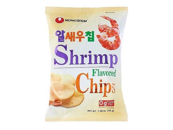 Nongshim Shrimp Flavored Chips 75g