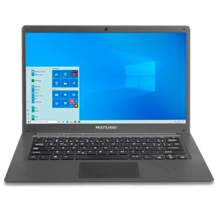 NOTEBOOK MULTILASER PC130 2GB/32GB 14 WIN 10 LEGACY CLOUD