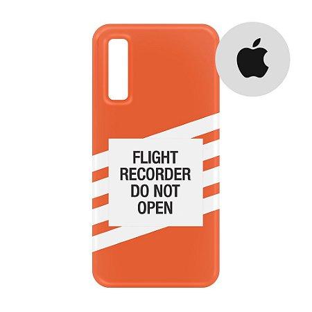 Capa para Smartphone Flight Recorder - Apple - Aviões e Músicas
