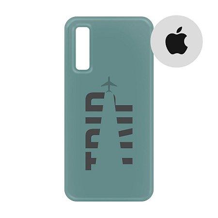 Capa para Smartphone Trip Verde Montanha - Apple - Aviões e Músicas