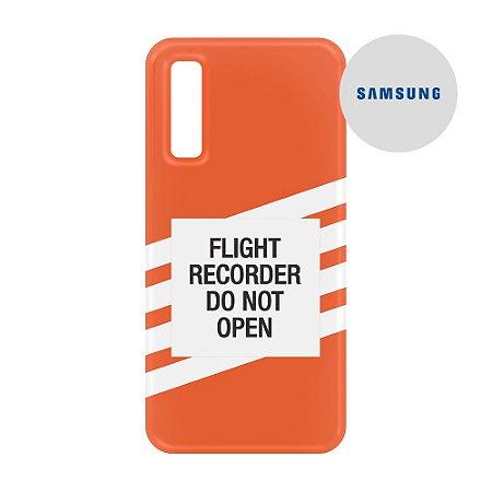 Capa para Smartphone Flight Recorder - Samsung - Aviões e Músicas