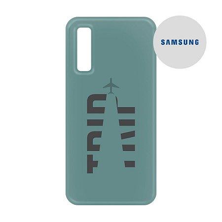 Capa para Smartphone Trip Verde Montanha - Samsung - Aviões e Músicas