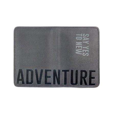 Porta Passaporte Adventure - Aviões e Músicas