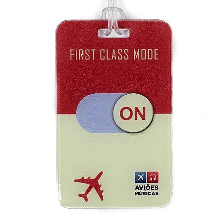 Tag de Mala First Class Mode On Aviões e Músicas