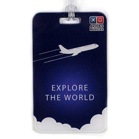 Tag de Mala Explore the World Aviões e Músicas