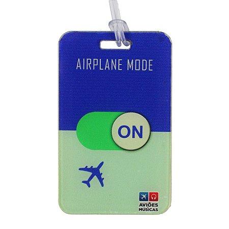 Tag de Mala Airplane Mode On 2 Aviões e Músicas