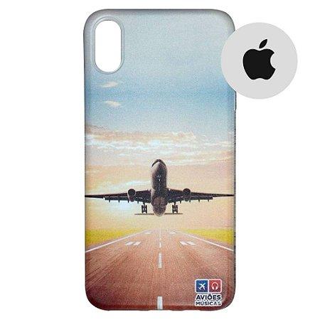 Capa para Smartphone Decolagem - Apple - Aviões e Músicas
