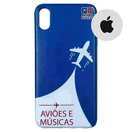 Capa para Smartphone Aviões e Músicas - Apple