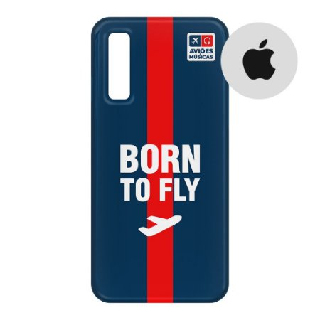 Capa para Smartphone Born To Fly - Apple