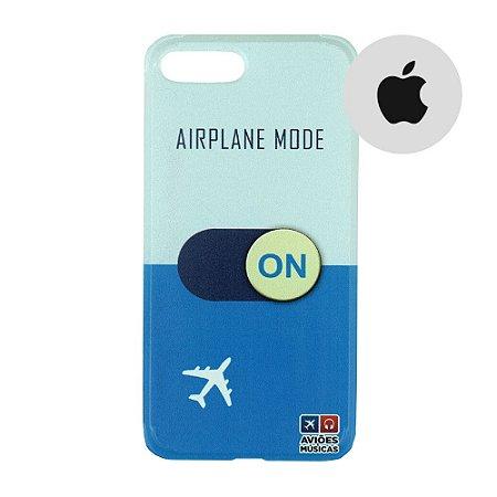 Capa para Smartphone Airplane Mode On - Apple