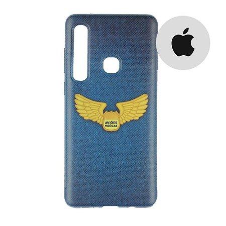 Capa para Smartphone Brasão Aviões e Músicas - Apple