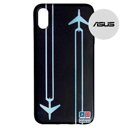 Capa para Smartphone Contrail - Asus - Aviões e Músicas