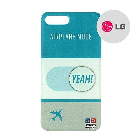 Capa para Smartphone Airplane Mode Yeah! - LG