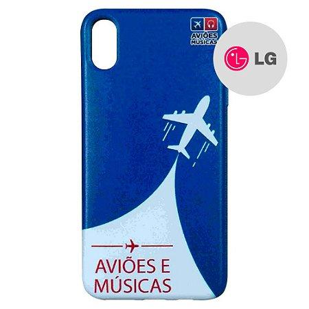 Capa para Smartphone Aviões e Músicas - LG