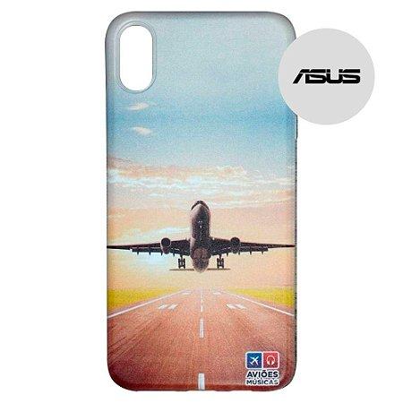 Capa para Smartphone Decolagem - Asus - Aviões e Músicas