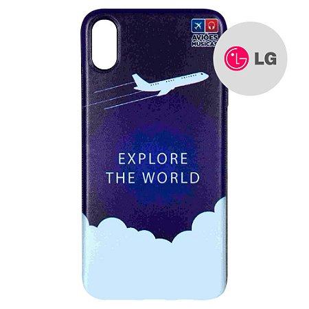 Capa para Smartphone Explore The World - LG Aviões e Músicas
