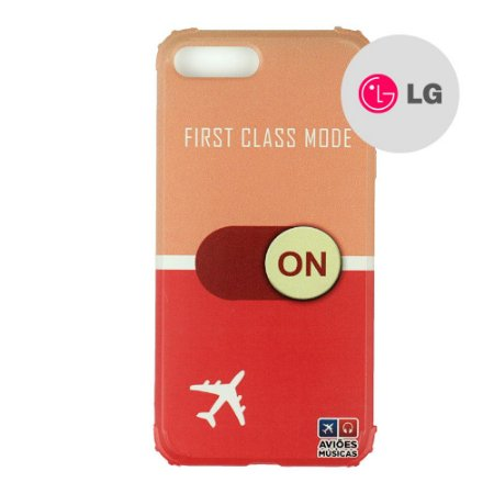 Capa para Smartphone First Class Mode On - LG