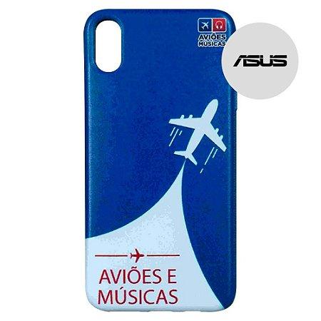 Capa para Smartphone Aviões e Músicas - Asus