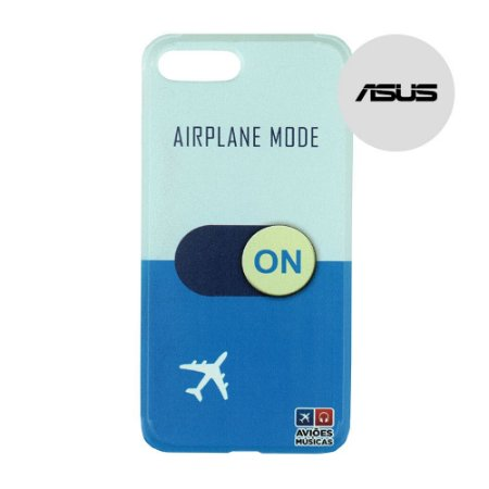 Capa para Smartphone Airplane Mode On - Asus