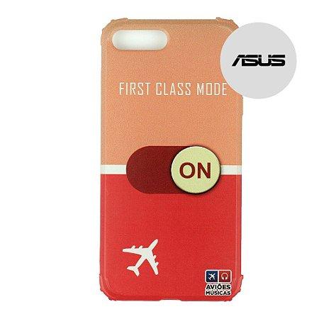 Capa para Smartphone First Class Mode On - Asus - Aviões e Músicas