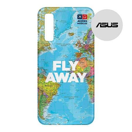 Capa para Smartphone Fly Away - Asus - Aviões e Músicas