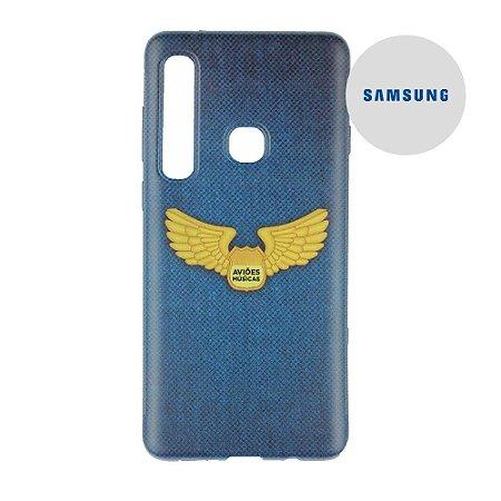 Capa para Smartphone Brasão Aviões e Músicas - Samsung