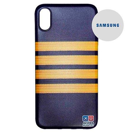 Capa para Smartphone Berimbela - Samsung - Aviões e Músicas